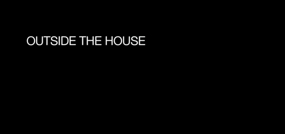 Outside the House title screen