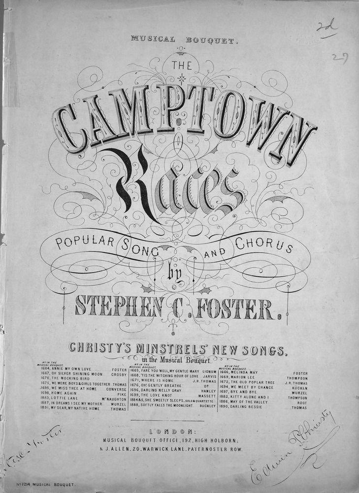 camptown-races-sheet-music